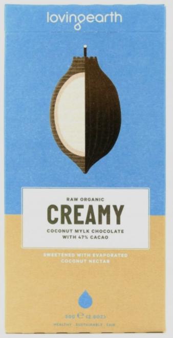 Loving Earth Creamy Coconut Mylk Chocolate 80g