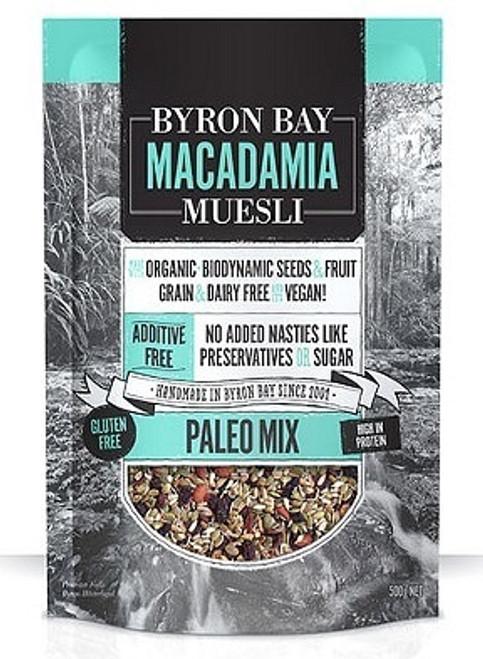 Byron Bay Macadamia Muesli Gluten Free Paleo Mix 425g