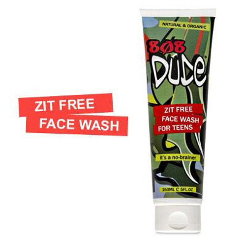 808 Dude Organic Zit Free Face Wash for Teens 150ml