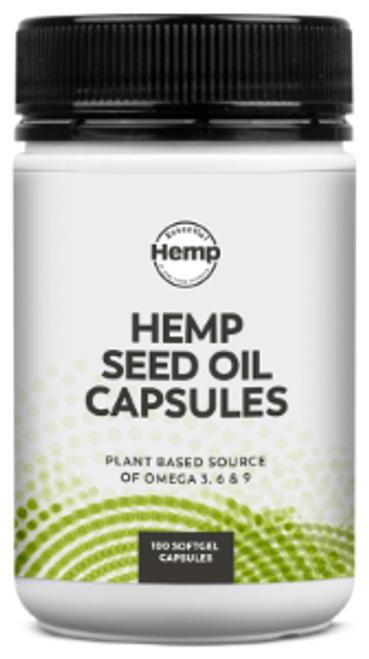 Essential Hemp Hemp Oil Capsules 100c