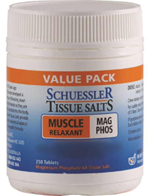 M&P Tissue Salts Mag Phos Muscle Relaxant Cream 75g