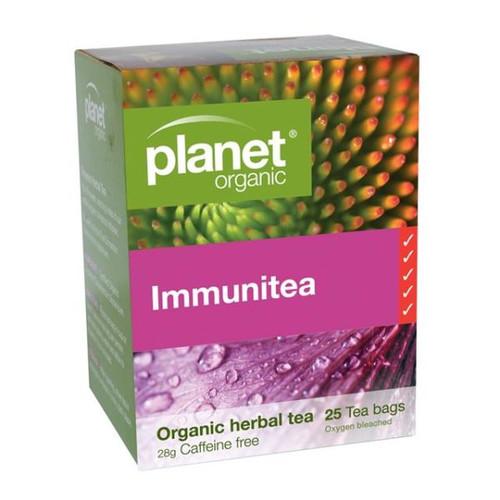 PLANET ORGANIC Herbal Tea Bags  Immunitea 25