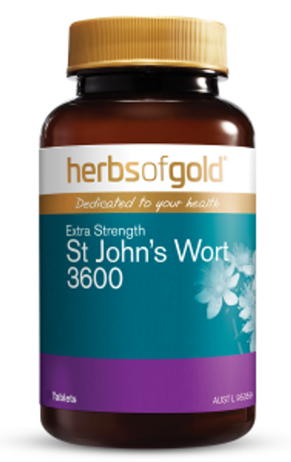 HERBS OF GOLD St John's Wort 60t RRP $43.95