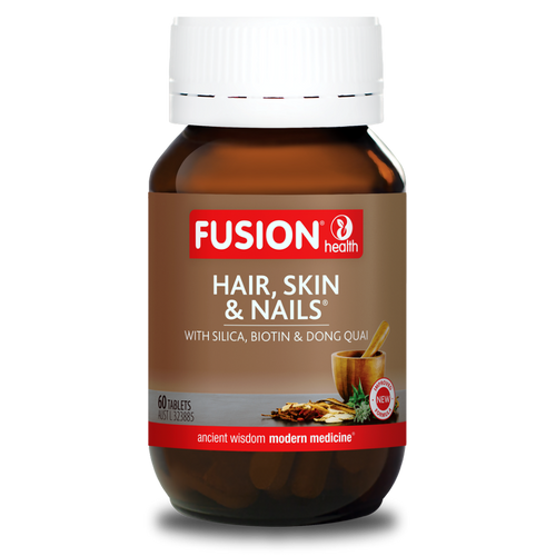 FUSION Hair, Skin & Nails 60t RRP $50.95 DELETE