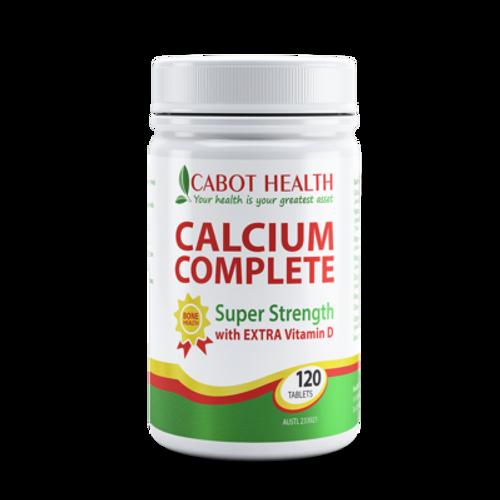 Cabot Health Calcium Complete 120t