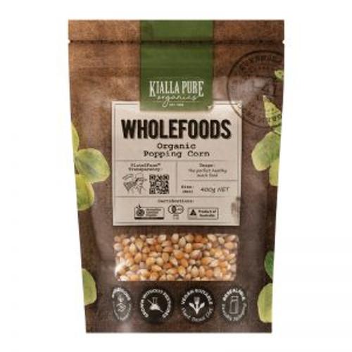 Kialla Organic Poping Corn 400g