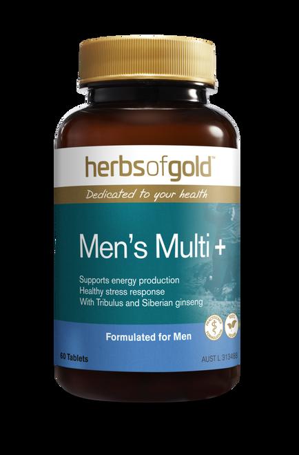 Herbs Of Gold Men's Multi 60t RRP$47.50