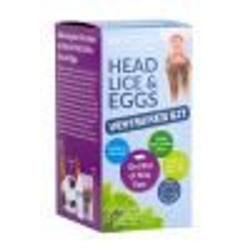 MooGoo Head Lice & Eggs Destroyer Kit