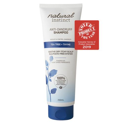 Natural Instinct Shampoo Anti-Dandruff (Tea Tree + Thyme) 250ml