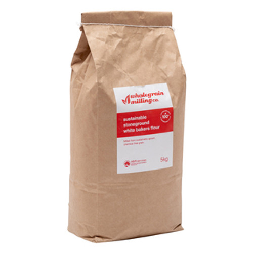 Sustainable Stoneground White Bakers Flour 5kg
