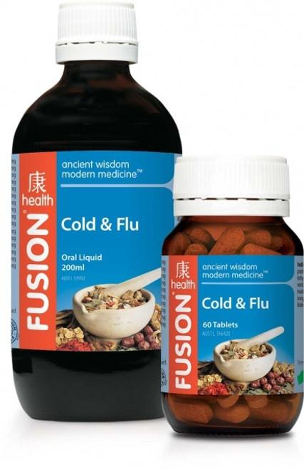 FUSION Cold & Flu 30t  RRP $30.95
