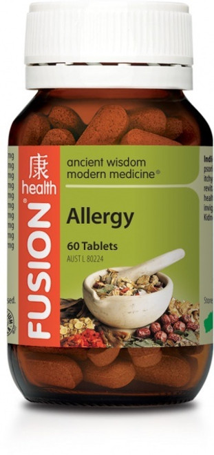 FUSION Allergy 60 RRP $49.95