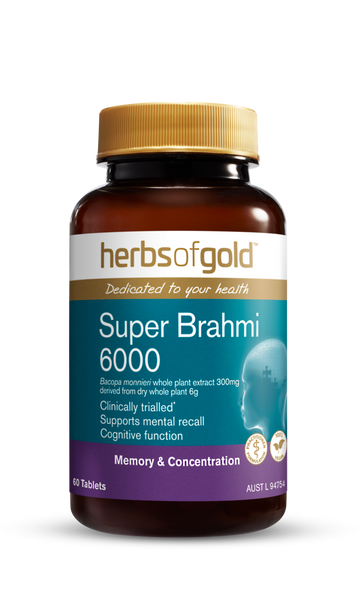 Herbs of Gold Super Brahmi 6000  RRP $57.95