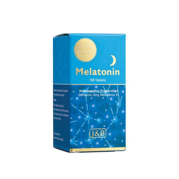 J&B Melatonin 5x (100 Tabs)