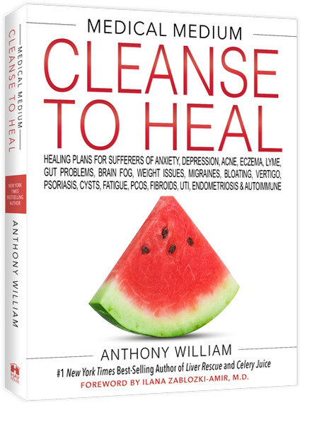 BOOK Medical Medium Cleanse To Heal By Anthony William 1