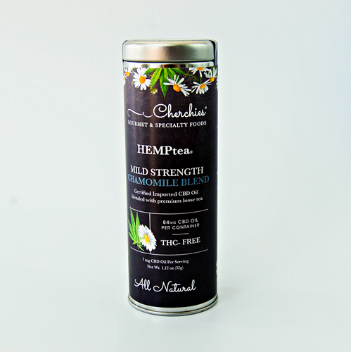 Cherchies HEMPtea™ Chamomile Tea Blend- MILD