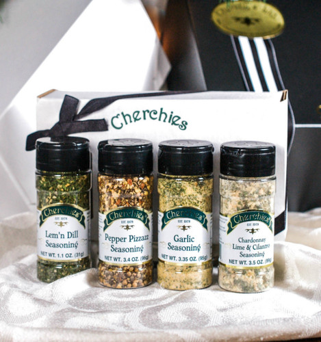 Cherchies Seasoning Quartet Gift Collection