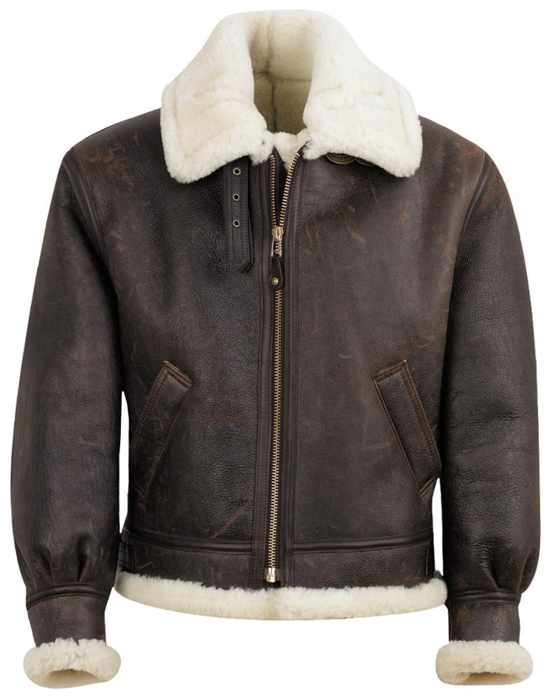 Sheepskin B-3 Flight Jacket