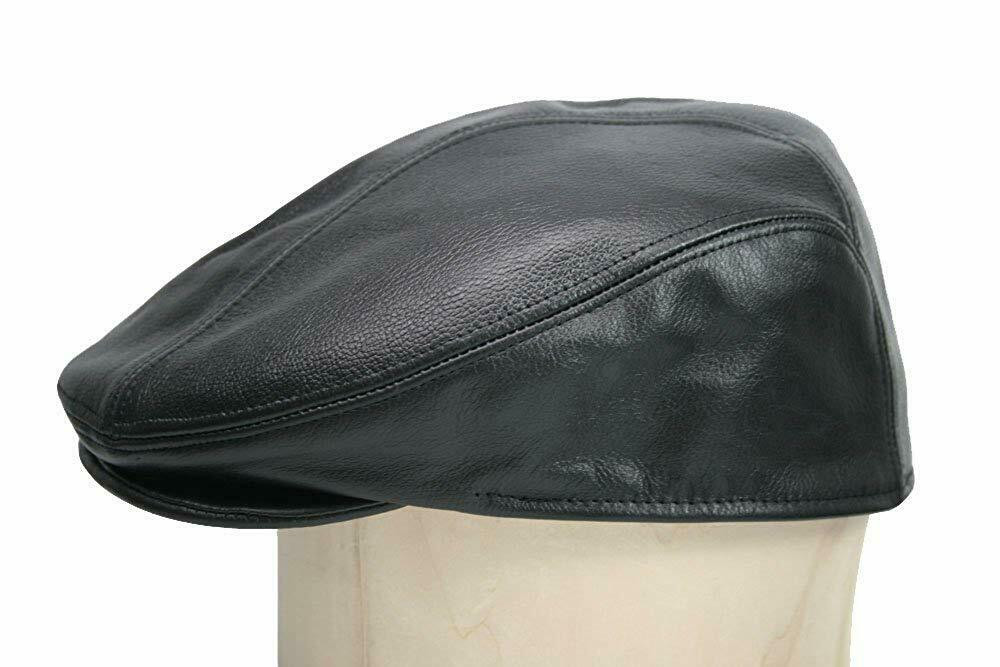 Classic Leather Driver Hat