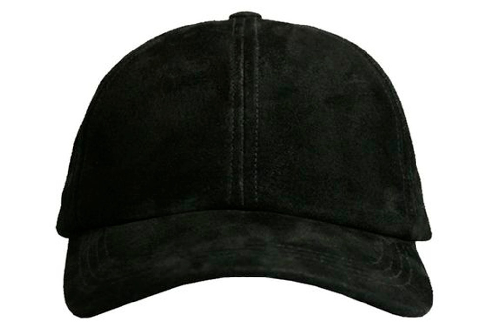 Adjustable  Suede Leather Baseball Cap