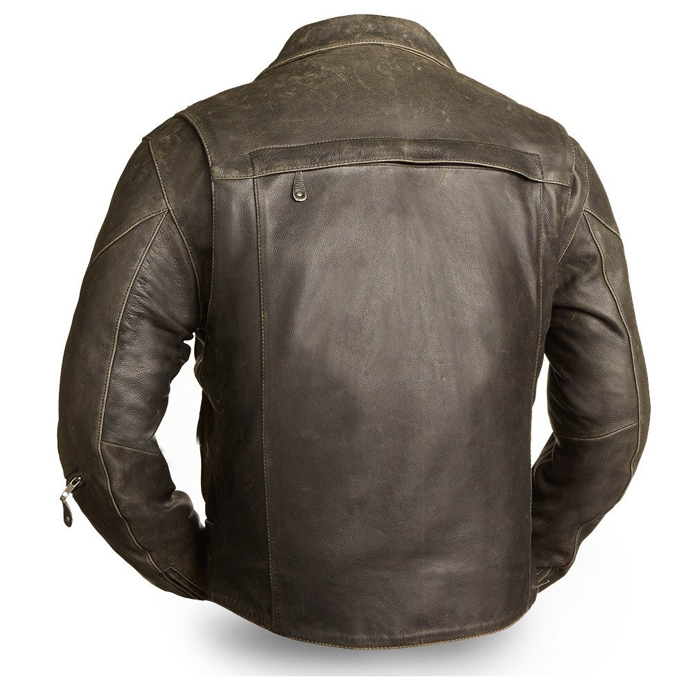 The 60s New Yorker Leather Jacket