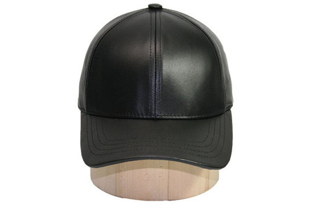 1b678ee71e8 Genuine Cowhide Leather Baseball Cap Adjustable