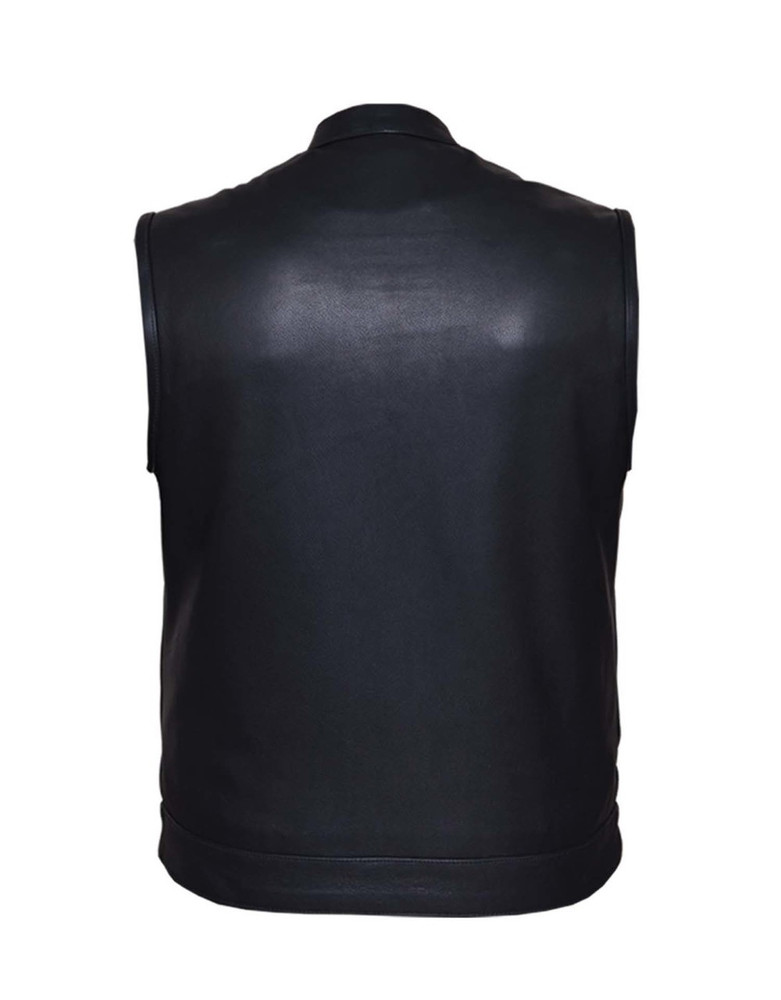 best sellers  Men's top grain cowhide Club Vest