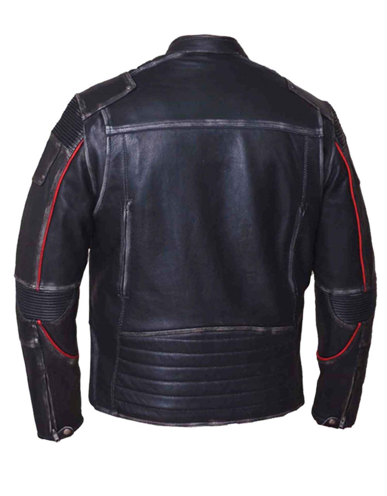 Men Durango  Motorcycle Leather Jacket