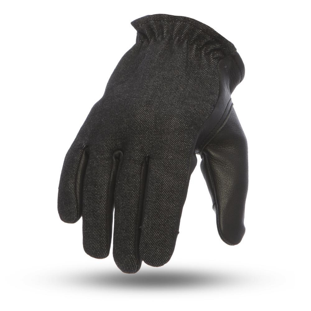 denim/ leather