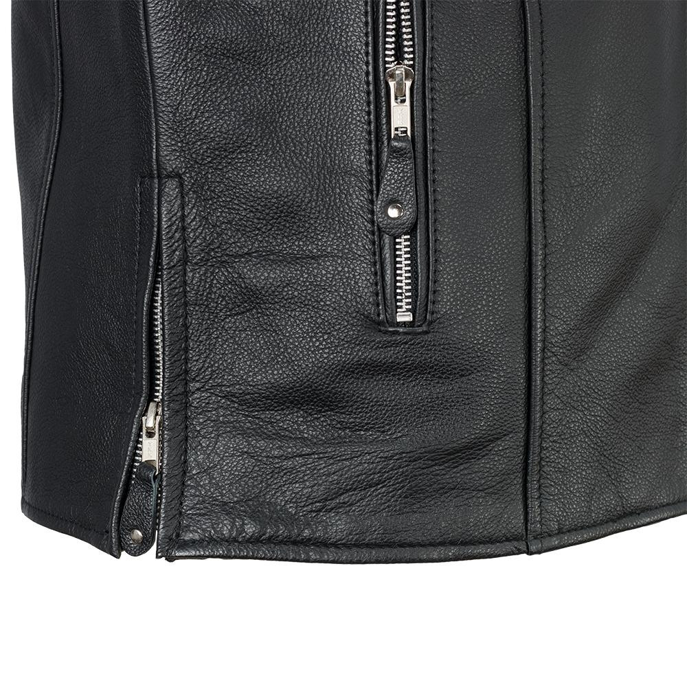 Ace Men's Classic Biker Leather