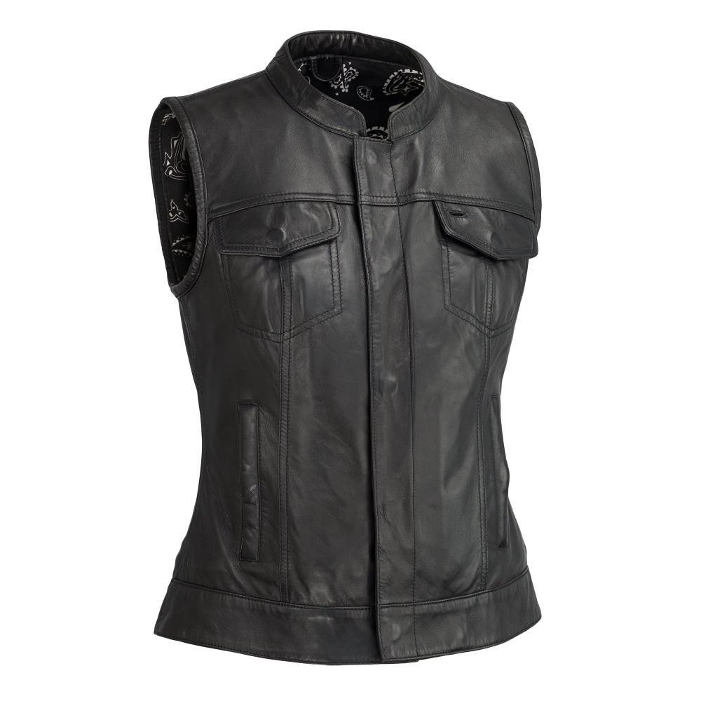 Build Your own Leather Custom Vest Ludlow