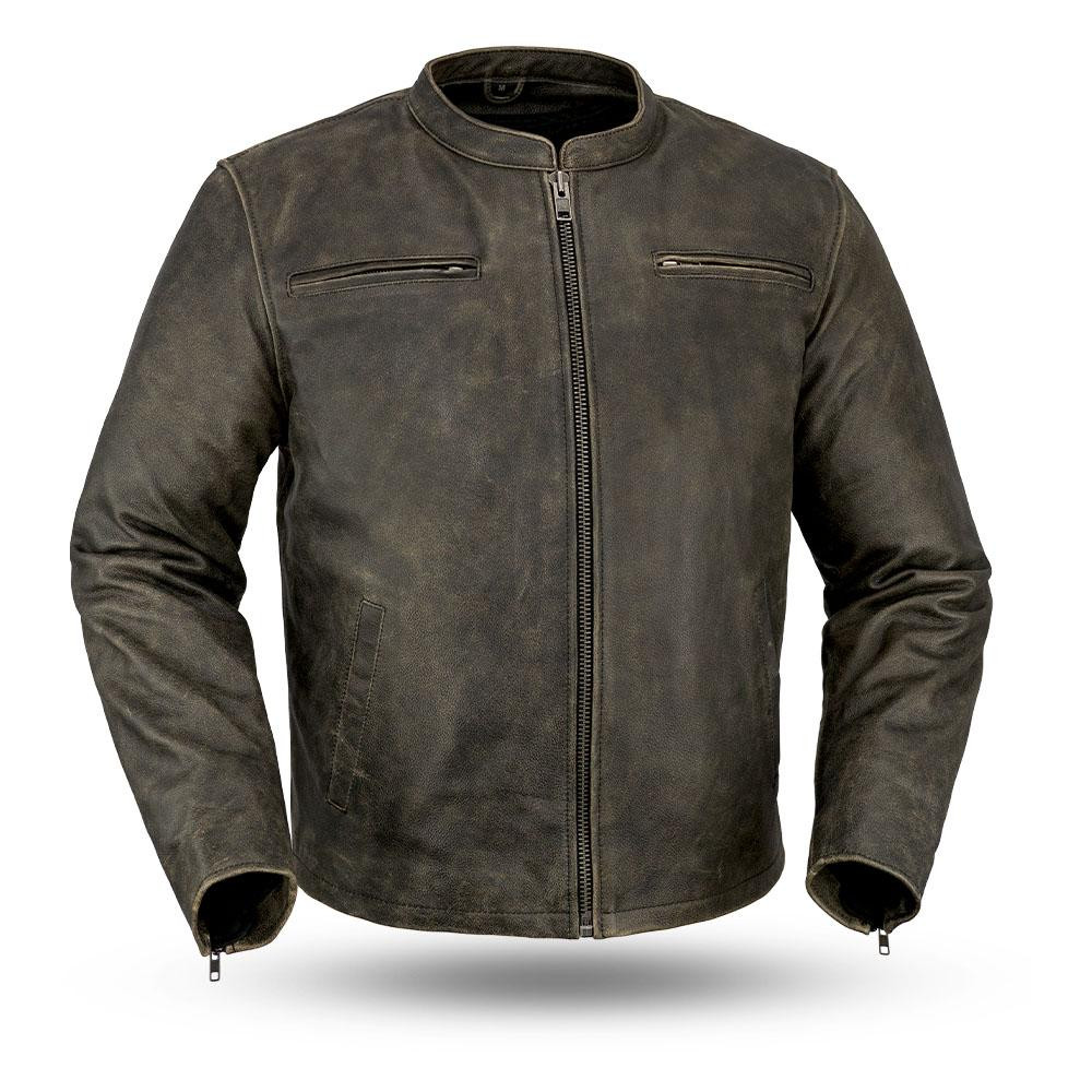 Drifter Men's Motorcycle Leather Jacket