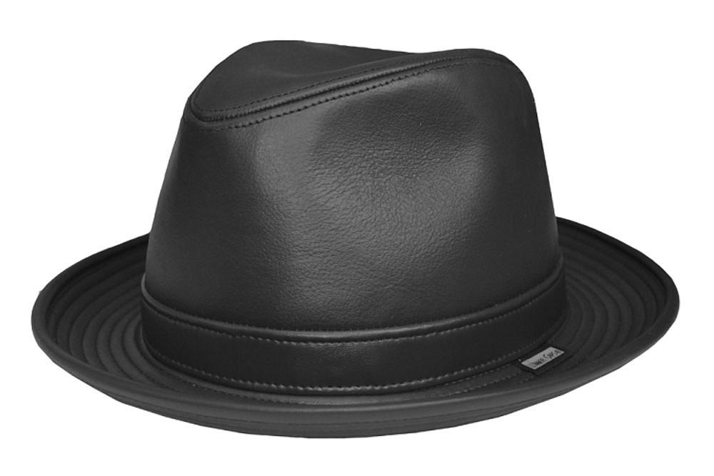 Leather Fedora