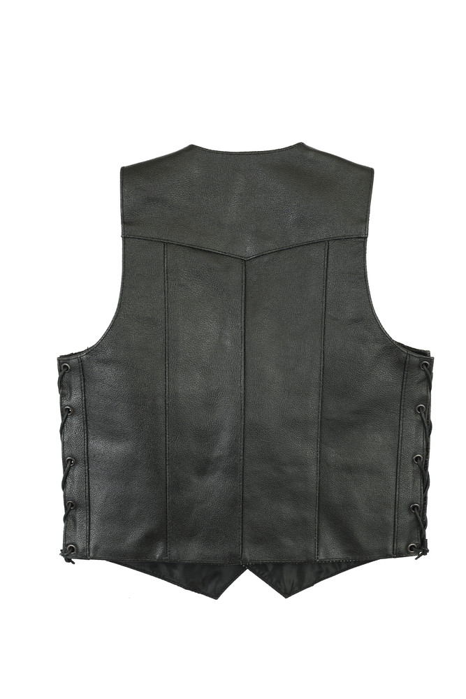Kids Traditional Style Side Lace Vest