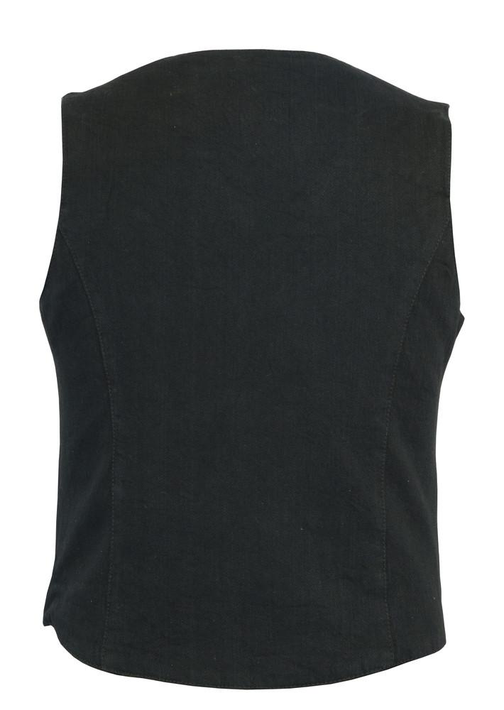 Women's Denim Classic Plain Sides Vest