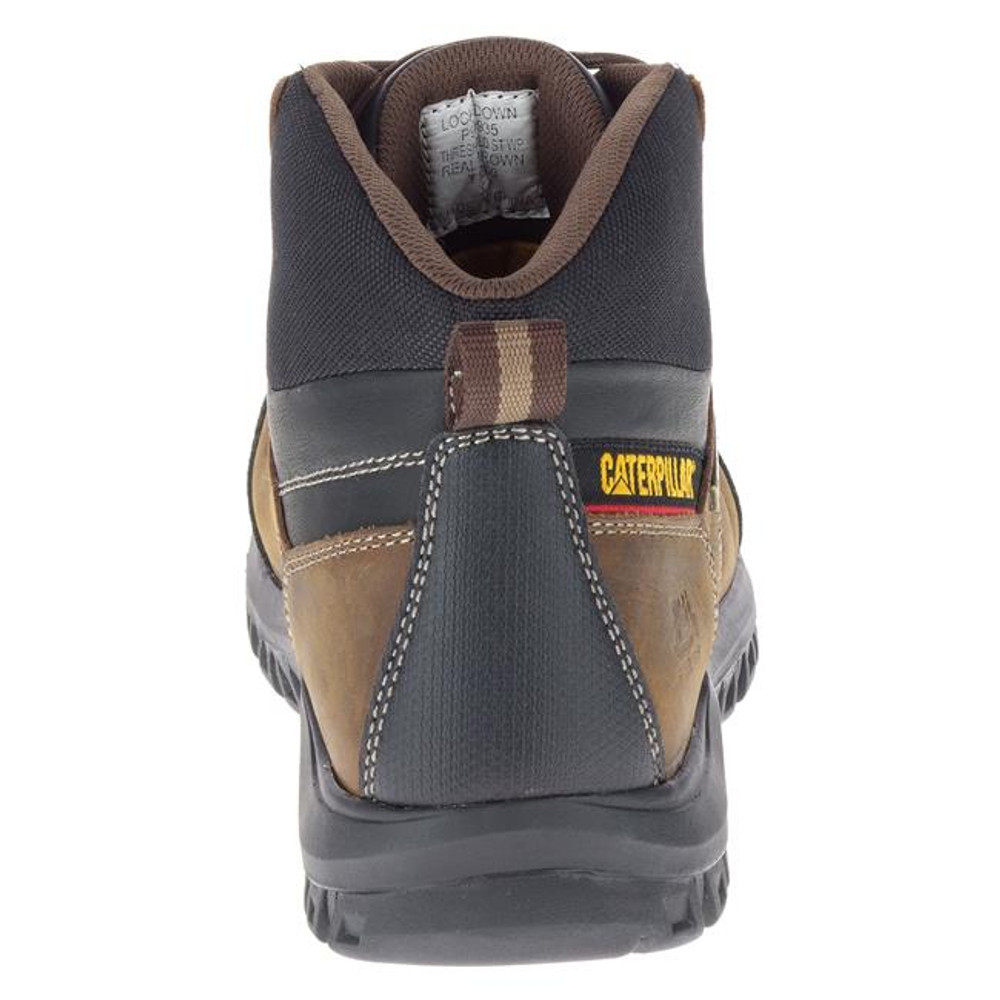 CAT Threshold Soft Toe Waterproof Boots Brown