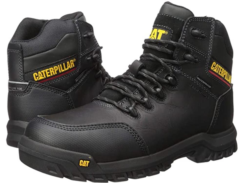 Men's Caterpillar Resorption Waterproof Comp Toe Work Boots