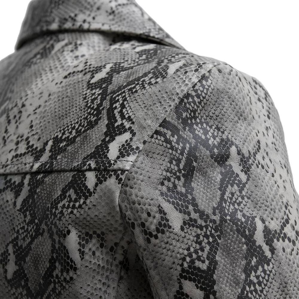 Python Print on Genuine Leather