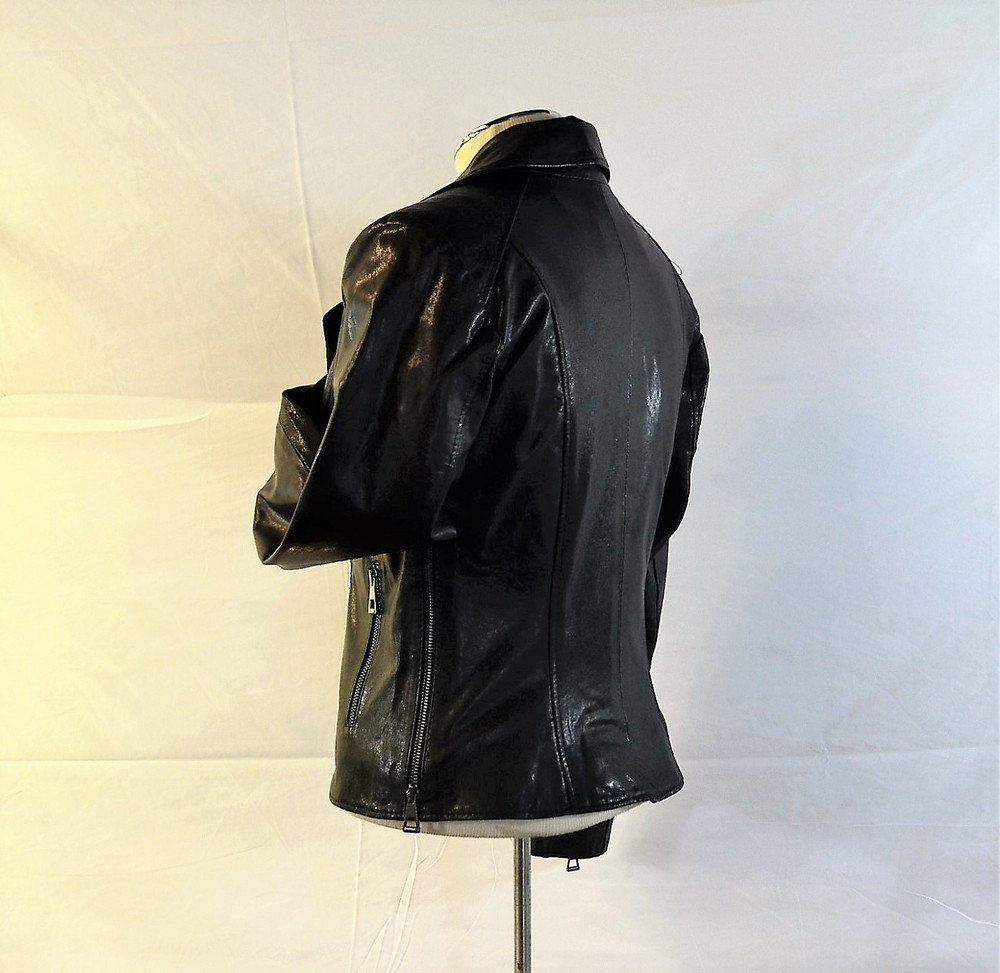Ladies Leather jacket gloss
