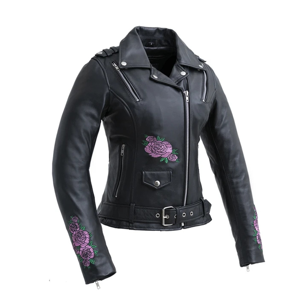 Bloom - Women's Motorcycle Leather Jacket