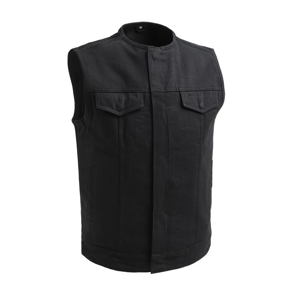 No Limit Twill   Men motorcycle vest
