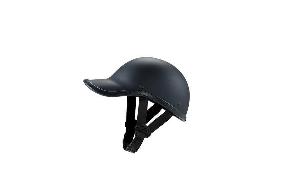 Novelty Helmet Baseball Cap Style Flat Black
