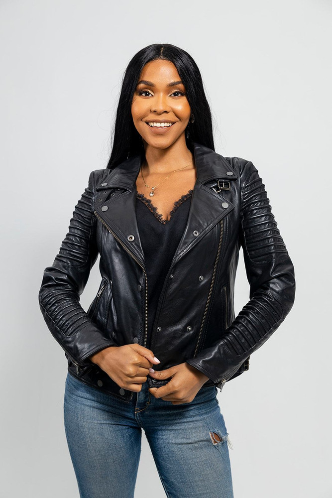 Queens - Women's Fashion  Leather Jacket