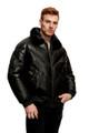 Original Goose Leather/Down Filled Bomber mink collar