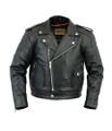 Unisex Kid's M/C Style Jacket