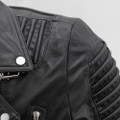 Brooklyn  Moto Inspired Lather Jacket