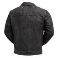 Austin Men Leather  Distress
