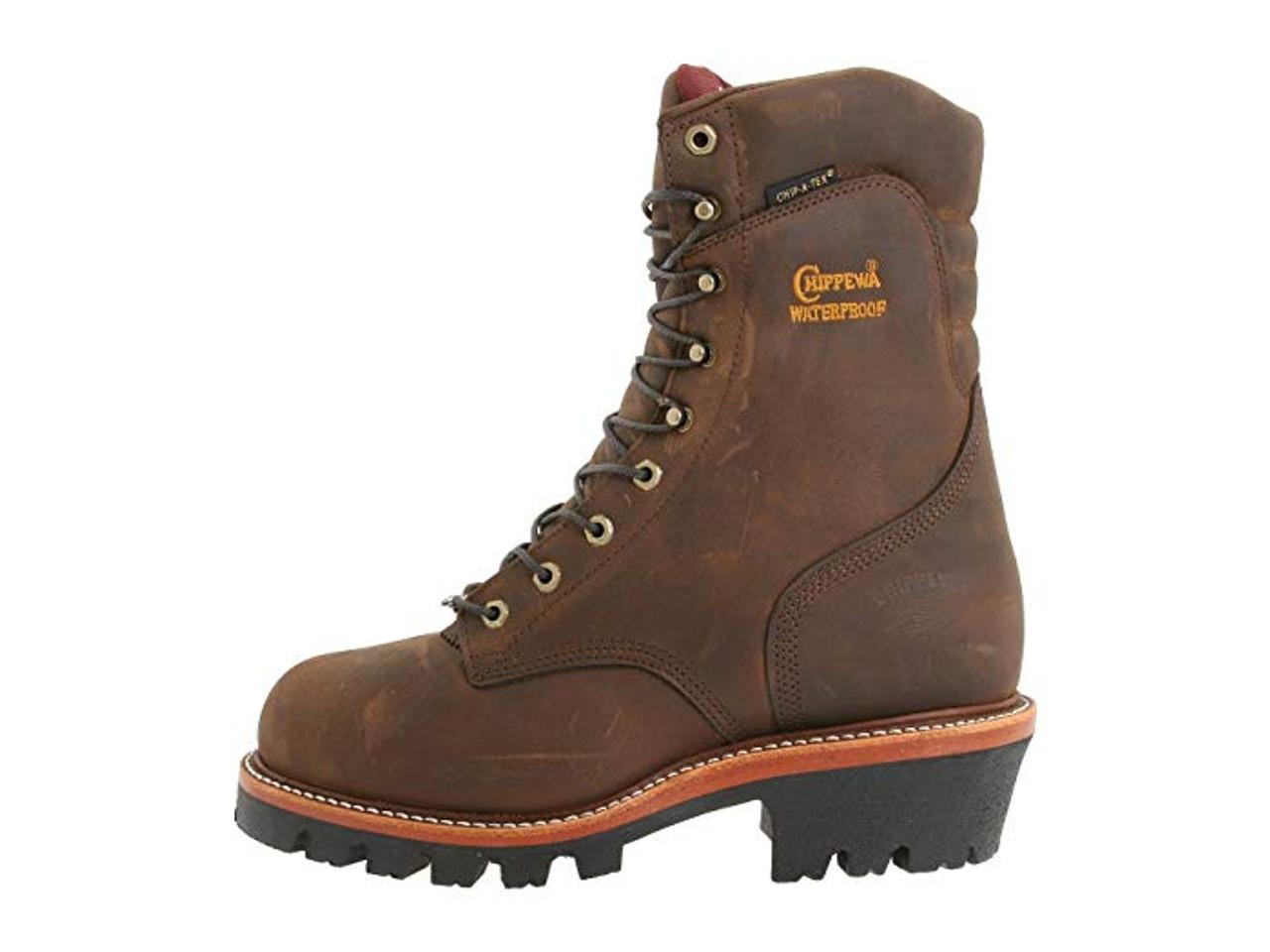chippewa super logger boots on sale