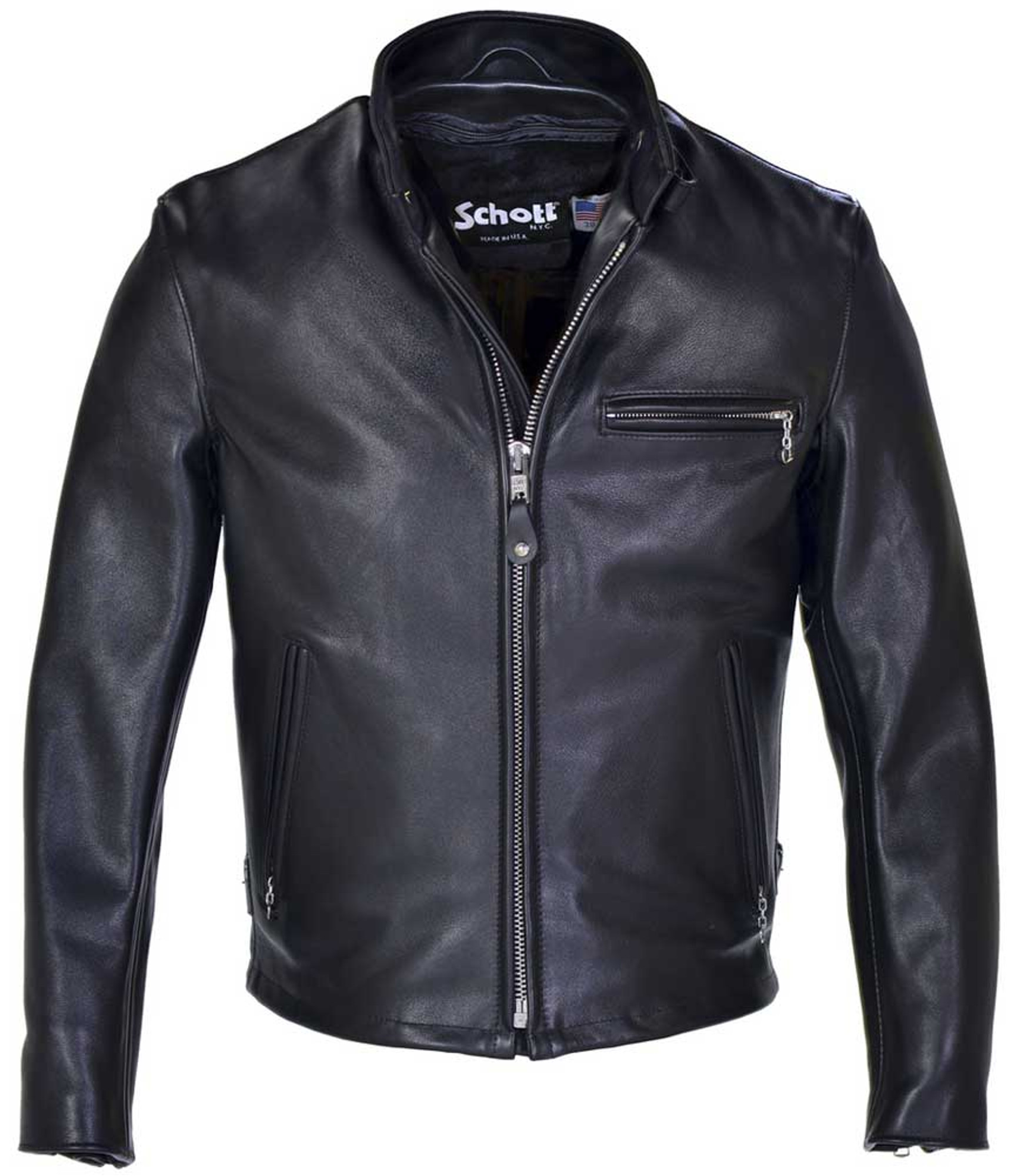 Jackets schott for men leather Leather Jackets
