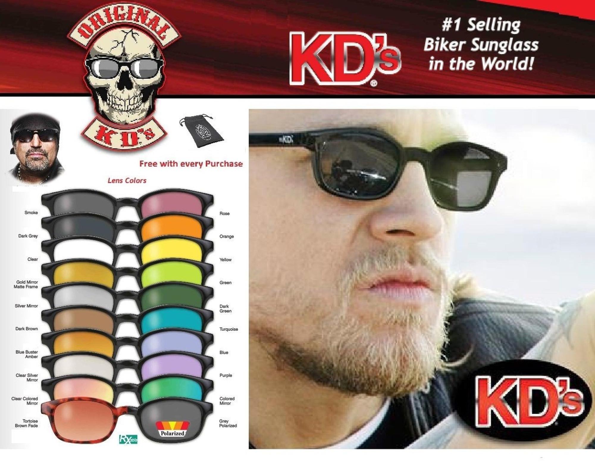 5d81e1e5c9e KD s Original Biker Riding Glasses Sunglasses - SUNSET LEATHER